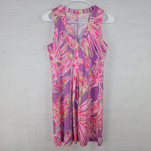 Lilly Pulitzer Size XS PinkPurple Sleeveless Dress